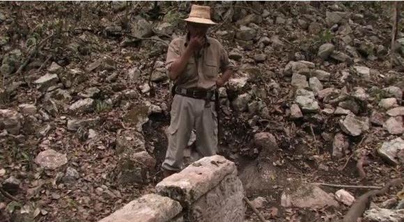 Maya city ruins Chactun