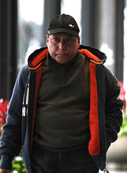Subir Maitra leaves the the Dirksen U.S. Courthouse in Chicago on April 16, 2013.