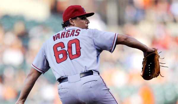 Jason Vargas has been put on the 15-day disabled list while he undergoes tests on what has been diagnosed as a blood clot under his left arm.