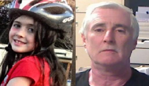 Authorities believe that Cherish Perrywinkle, left, was kidnapped by registered sex offender Donald J. Smith, right.