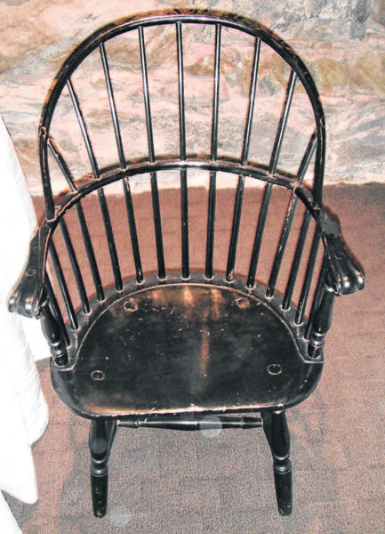 The elements of this Windsor chair will tell you a lot about its origin.
