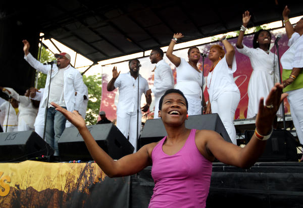 Chicago Gospel Music Festival. (Chicago Tribune/File)