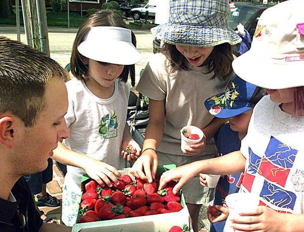 Long Grove Strawberry Festival. (Chicago Tribune/File)