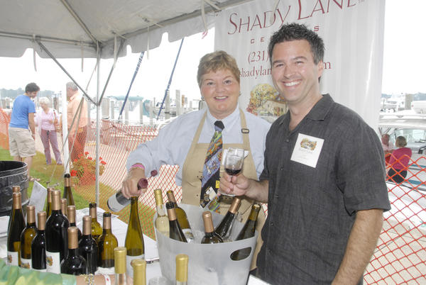 The annual Waterfront Wine Festival in Harbor Springs offers both local and international wines, along with shoreline views.
