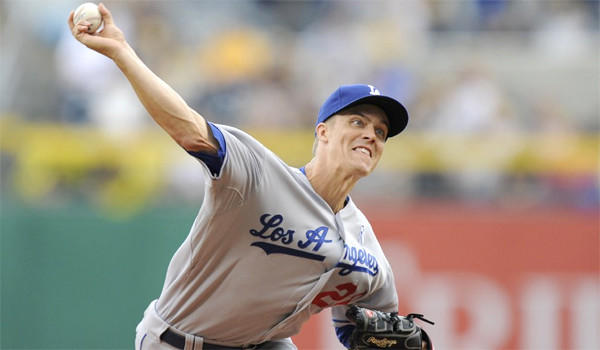Zack Greinke is hitting .316 going into Saturday's meeting with the San Diego Padres, making him the top Dodgers pitcher at the plate.