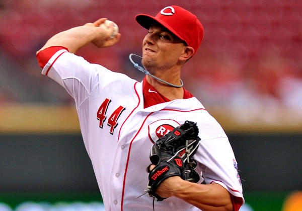 Cincinnati Reds pitcher Mike Leake has gone 6-2 with a 1.81 ERA since May 1.