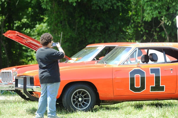 Dukes of Hazzard Replica Cars and Classic and Antique Cars were on display at the Hagerstown Speedway's Dukes Family Festival held Saturday.