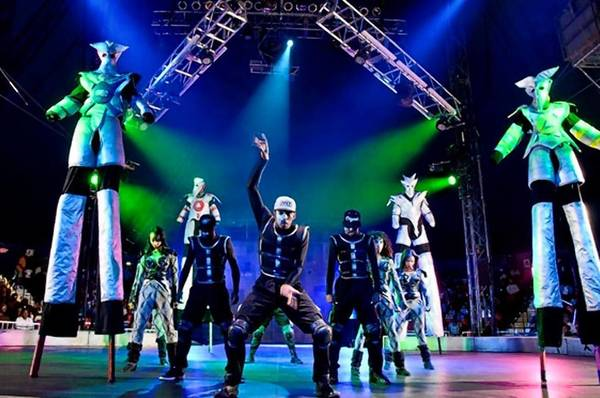 The UniverSoul Circus will do 13 shows in Norfolk this week.