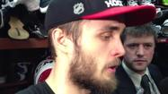 Video: Hjalmarsson on Hawks' Game 5 win