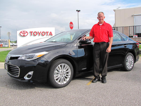 Offered with either a powerful V-6 or a fuel-sipping hybrid powerplant, the new 2013 Toyota Avalon offers lots of style and features, said Tony Harrington, a sales consultant for Gates Toyota in South Bend.