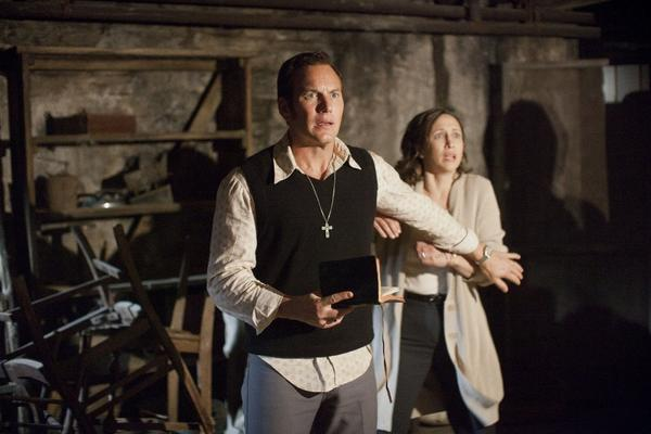 "Patrick Wilson and Vera Farmiga portray Ed and Lorraine Warren in New Line Cinema's supernatural thriller ""The Conjuring."""