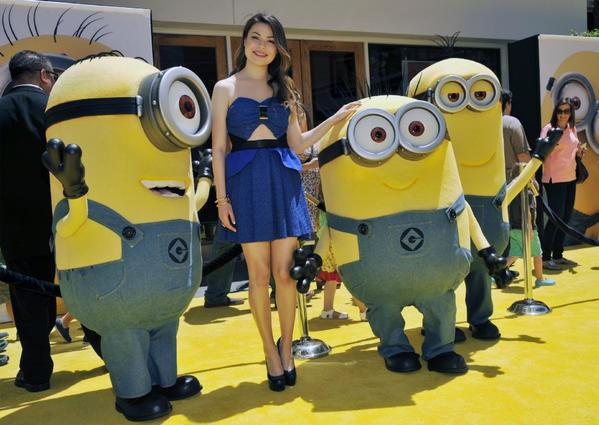 "Miranda Cosgrove at the premiere of ""Despicable Me 2"""
