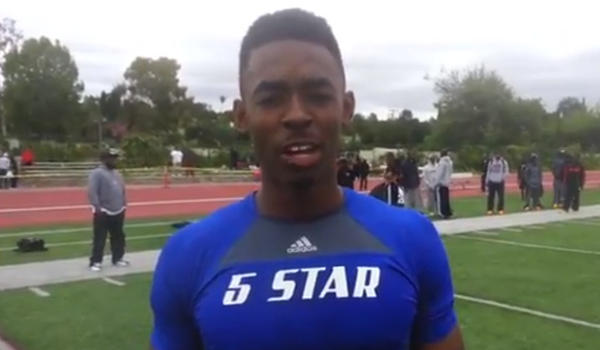 Gardena Serra wide receiver Jordan Lasley committed to UCLA, despite growing up a USC fan.