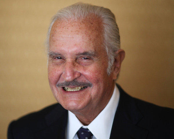 The late Mexican author Carlos Fuentes.