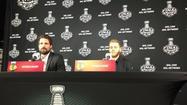 Video: Sharp, Kane on Toews, Game 6