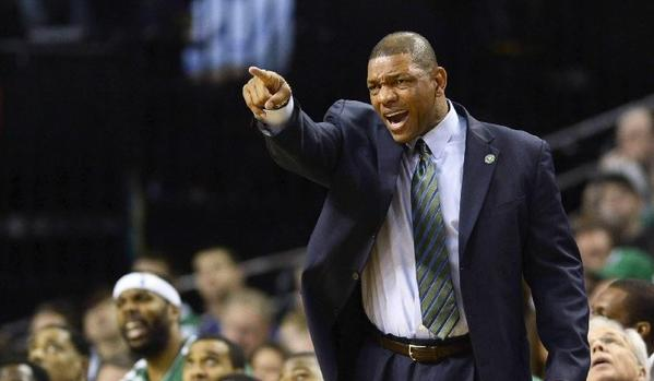 The Clippers and Boston Celtics are nearing agreement on a trade that would bring Coach Doc Rivers to L.A.