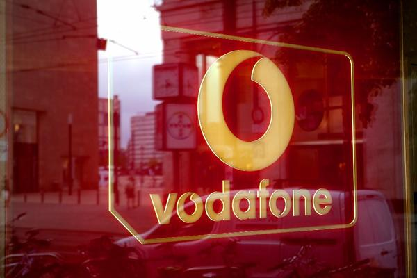 Vodafone Group has sweetened its offer for Kabel Deutschland to $10.1 billion. Above, a Vodafone store in Berlin.