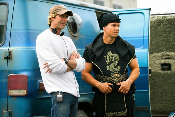 """Director Michael Bay (left) and actor Mark Wahlberg (right) -- seen here filming 2013's """"Pain and Gain"""" -- will reunite in the upcoming """"Transformers"""" sequel set to shoot in Chicago this summer."""