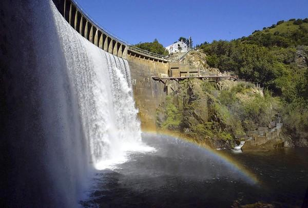The 92-year-old San Clemente Dam in the Carmel Valley hasn't been used as a water source for years and was deemed seismically unfit by the state in the early 1990s.