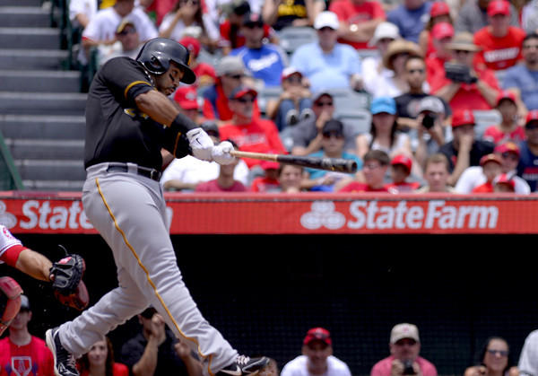 Pittsburgh Pirates' Pedro Alvarez has hit a home run in four consecutive games.