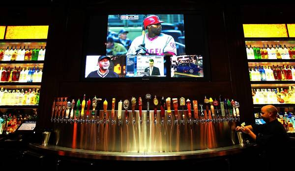 Nearly three dozen beers are on tap at BJs Restaurant & Brewhouse in Culver City. The Huntington Beach company expects to open 17 locations this year, including some in Maryland and Virginia.