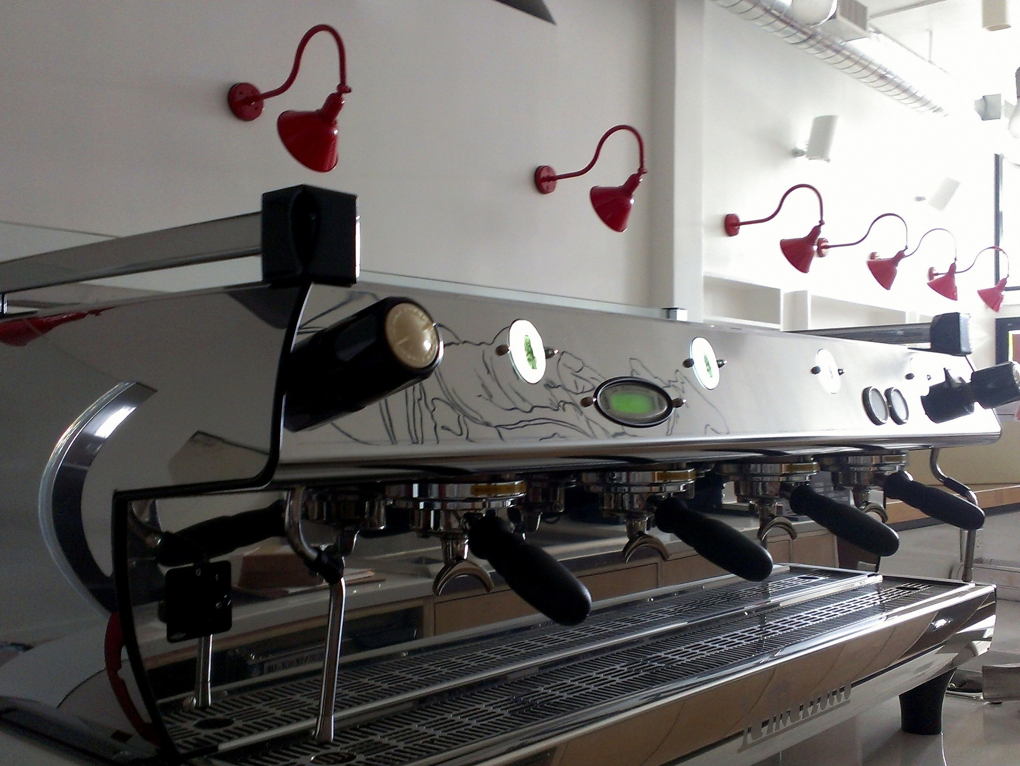 Phenomenal automated coffee Go Get Em Tiger on Larchmont says