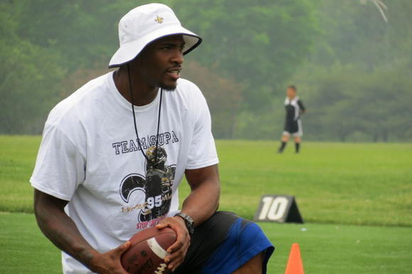 "New Orleans Saints Linebacker Martez Wilson held his 2nd Annual ""You Are The Future"" Youth Football Camp in Chicago June 21st and 22nd, 2013"