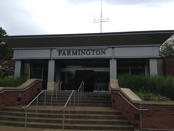 A file photo of Farmington town hall.