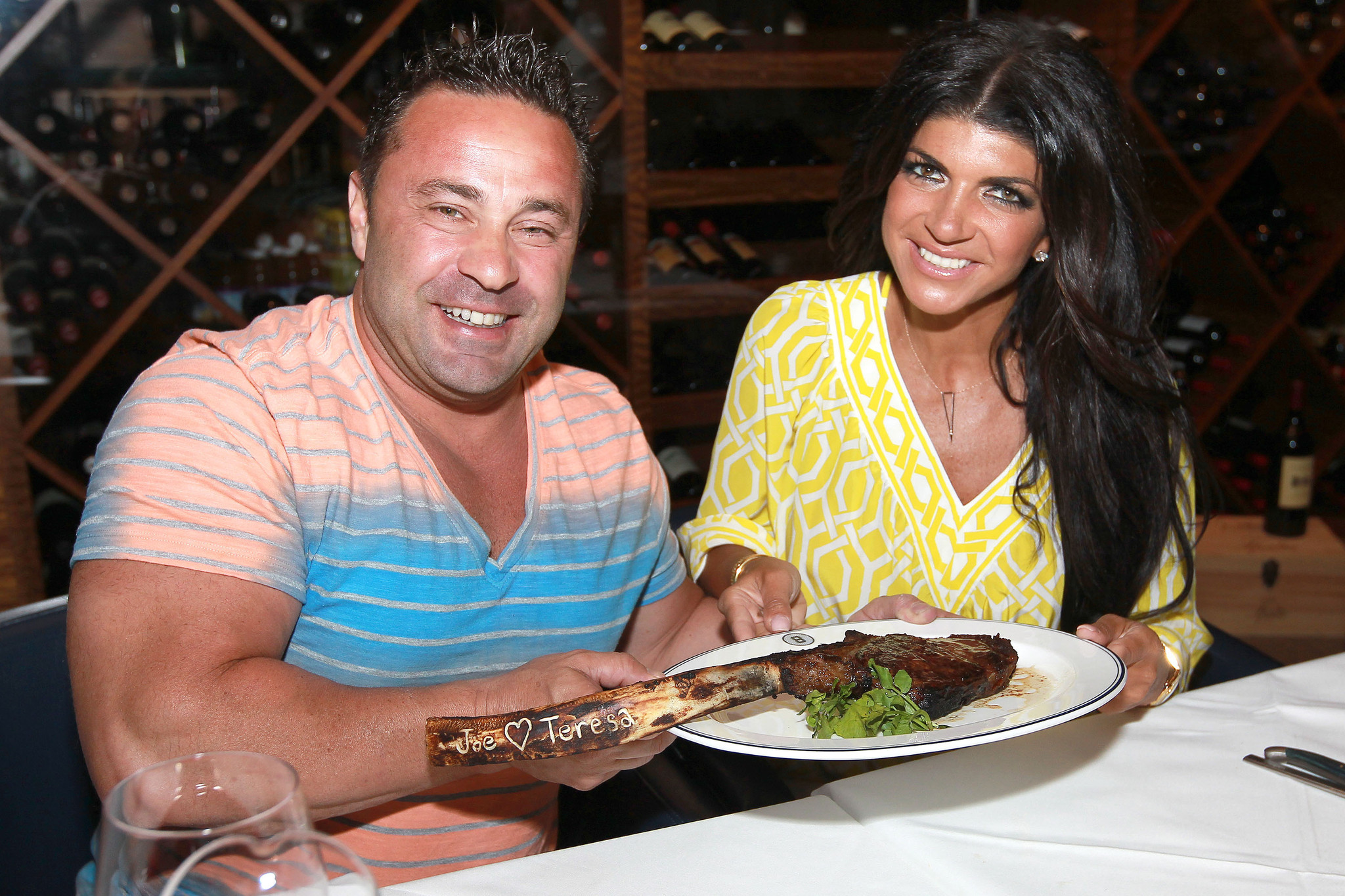 Celeb-spotting around South Florida - Teresa Giudice and her husband Joe