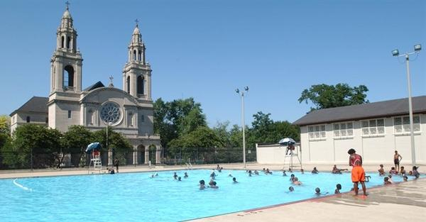 Chicago Park District pools opened June 21, 2013.