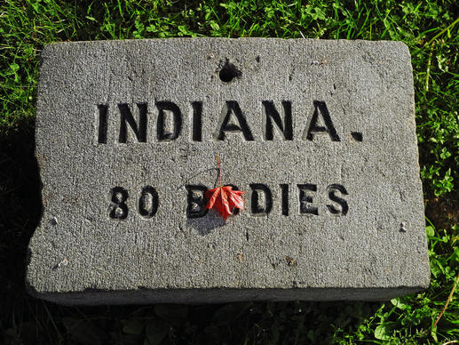 The Northern states, such as Indiana, contributed to the creation of the Soldiers' National Cemetery on the south edge of Gettysburg, Pa. The cemetery was dedicated on Nov. 19, 1863, but it was not completed until 1869.  Of the 3,500 Union soldiers who died, 1,664 were never identified.