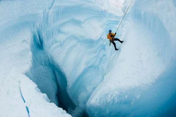 Photographer James Balog in Greenland.