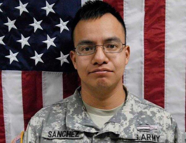 Spec. Javier Sanchez Jr., 28, was killed in combat in Afghanistan.