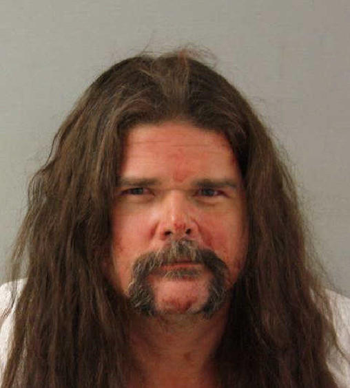 Jeffrey Hall was charged with fatally stabbing his neighbor Friday morning.