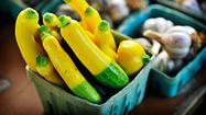 Sampling local farmers' markets