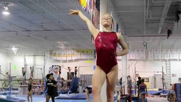 St. Francis Gymnast Shea Mahoney