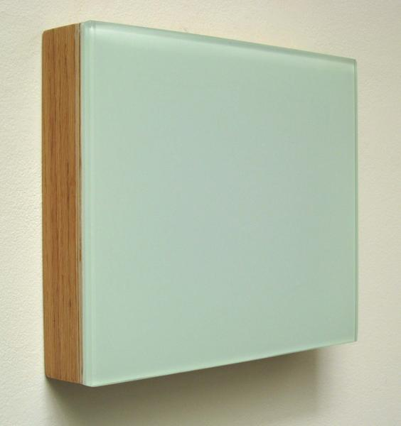 "Maxwell Hendler, ""Orlando,"" 2012, resin on wood, 34 x 44 inches."