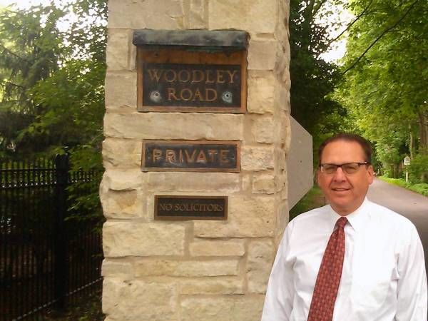 Hal Francke, an attorney who lives on Woodley Road, has been studying the possibility of annexation. Most Woodley homeowners want to investigate the issue, he said.
