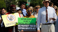 Obama 'deeply disappointed' with court ruling on Voting Rights Act