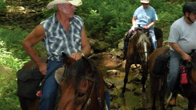 Members of the Greater Johnstown Saddle Club participate in the 2012 Horse Show.