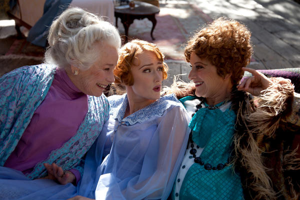 "Ellen Geer, Willow Geer and Melora Marshall in ""The Royal Family"" at Will Geer's Theatricum Botanicum"