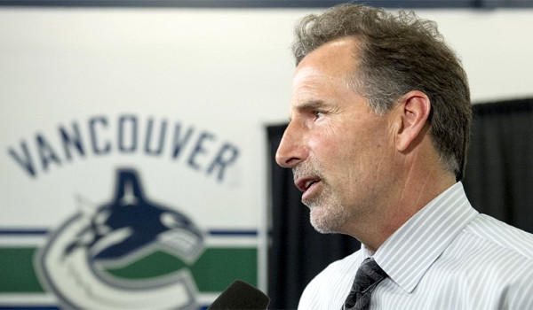 The Vancouver Canucks introduced John Tortorella as the team's new coach on Tuesday.