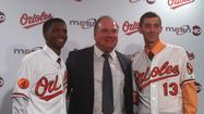 Orioles top draft picks Harvey, Hart are signed, eager to deliver