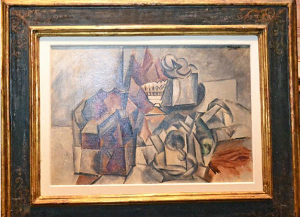 "Picasso's ""Fruit bowl and cup"""