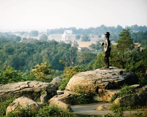 Gettysburg National Military Park, Gettysburg, Pennsylvania.