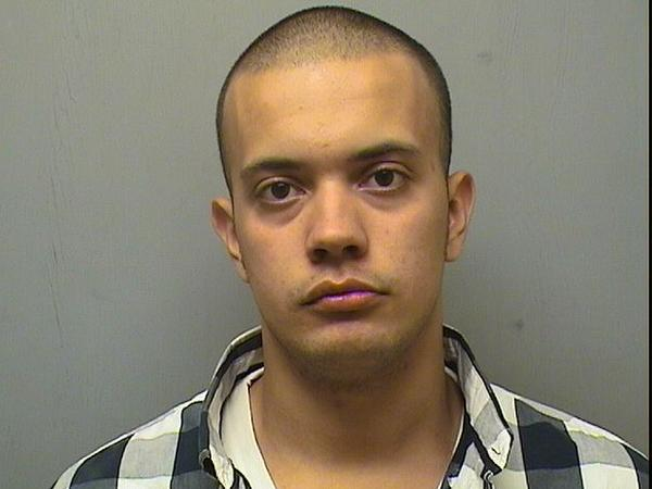 Orlando Ferreira, of Rocky Hill, was charged with assault on a police officer, interfering with police and third-degree trespassing.