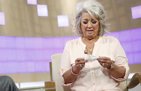 "In this image released by NBC, celebrity chef Paula Deen appears Wednesday on NBC News' ""Today"" show for an interview about her use of a racial slur."