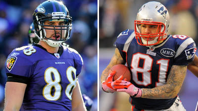 It's fair to debate whether Ravens or Patriots got better tight…