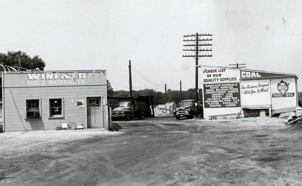 The 118-year-old Winfield Fuel & Material Co., seen here in a 1955 photo, has been operated by the same family since it opened in 1895. It will close when all its inventory is sold.