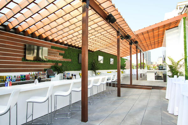 The renovated rooftop at Casey Moran's opens June 30.